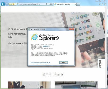 IE9 For win7 64位