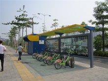 钢结构自行车亭棚