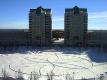 校园的冬季