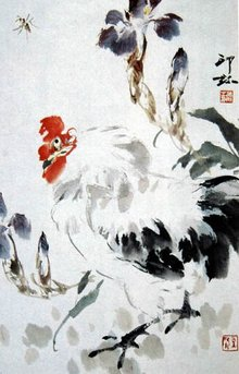山东翰墨缘画廊推荐画家萧朗国画艺术赏析