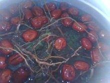 板蓝根煨红枣