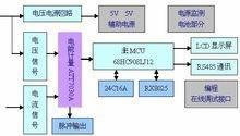 三相复费率多功能电能表原理框