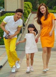 田雨橙与她的爸爸妈妈