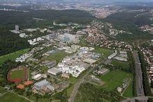 Vaihingen校区俯瞰图