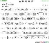 军旅歌手高歌_血染的风采_360百科