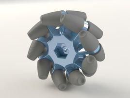 麦克纳姆轮 (来自勤奋的锐锐的投稿)  麦克纳姆轮——来自勤奋的锐锐的投稿 机器人硬件开发板 游客投稿版 第1张