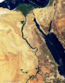 尼罗河流域