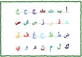 阿拉伯字母