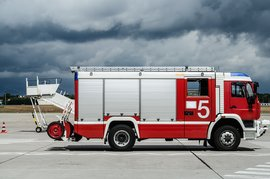 机场救援先导消防车