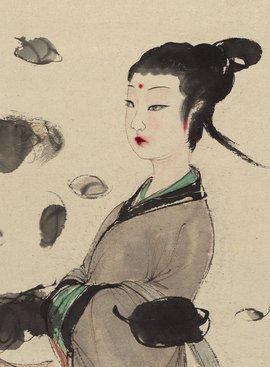湘君湘夫人图