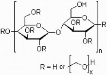 羟乙基纤维素结构式_羟乙基纤维素_360百科