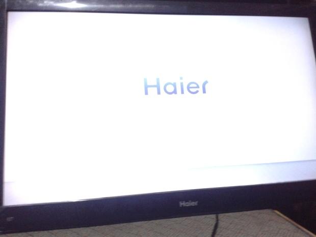 海爾液晶電視h42l06 開機畫面閃一下是什么問題