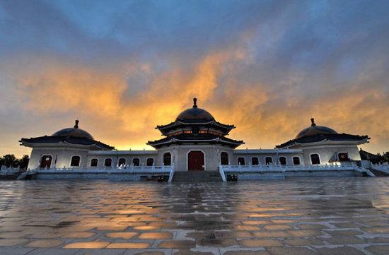 内蒙古鄂尔多斯成吉思汗陵旅游区