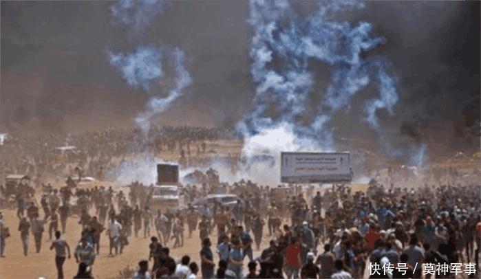 巴以冲突中东地�_中东暴动! 美国一举动导致巴以冲突再起, 55人死亡, 3000多人受伤