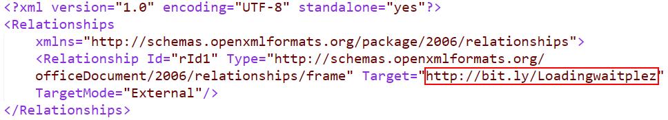 图7:文档中的setings.rels.xml中的框架