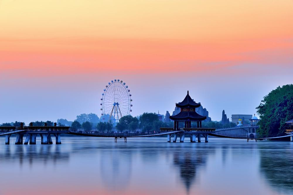 阜阳市颍上八里河风景区