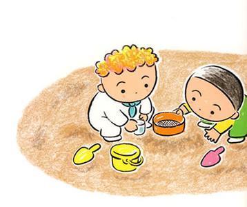 妹妹怎么画_沙滩上有一位小弟弟和小妹妹 这该怎么画