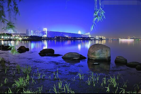 苏州市金鸡湖风景区